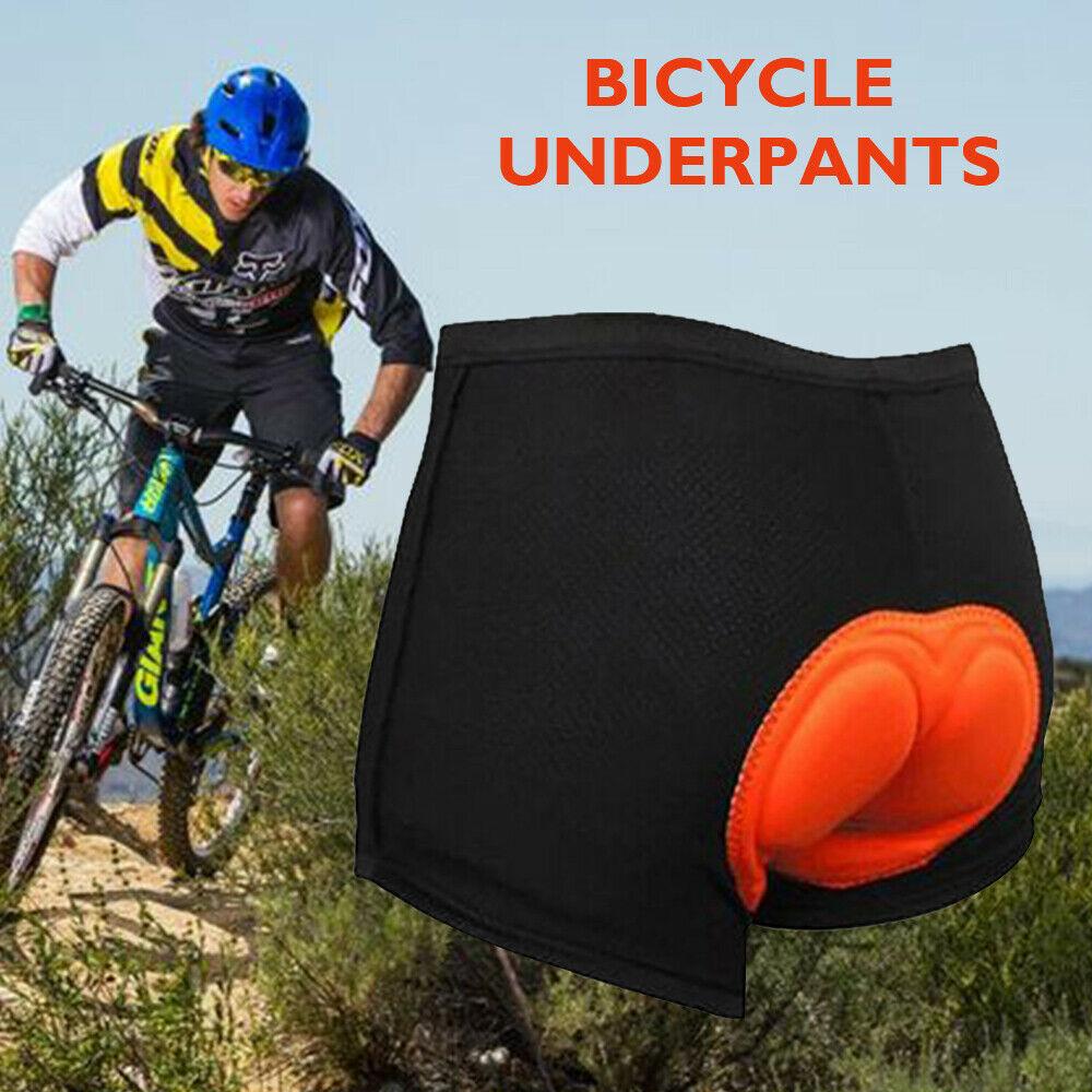 UK Men Women 3D Padded Bicycle Cycling Bike Shorts Underwear Soft Breathable Riding Pants Sport Trai