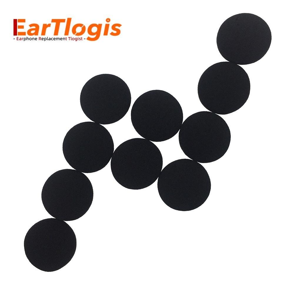 EarTlogis губка для замены амбушюры для Philips SHB9100 SHB9100RD SHB 9100 RD гарнитура части пены крышка вкладыши наконечник подушки