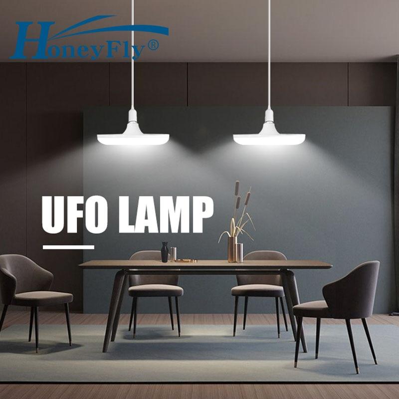 HoneyFly UFO LED E27 Bulb 220V Spot Light Bulbs Bombillas 16W 22W LED Spotlight Indoor Home Lighting Living Room Kitchen