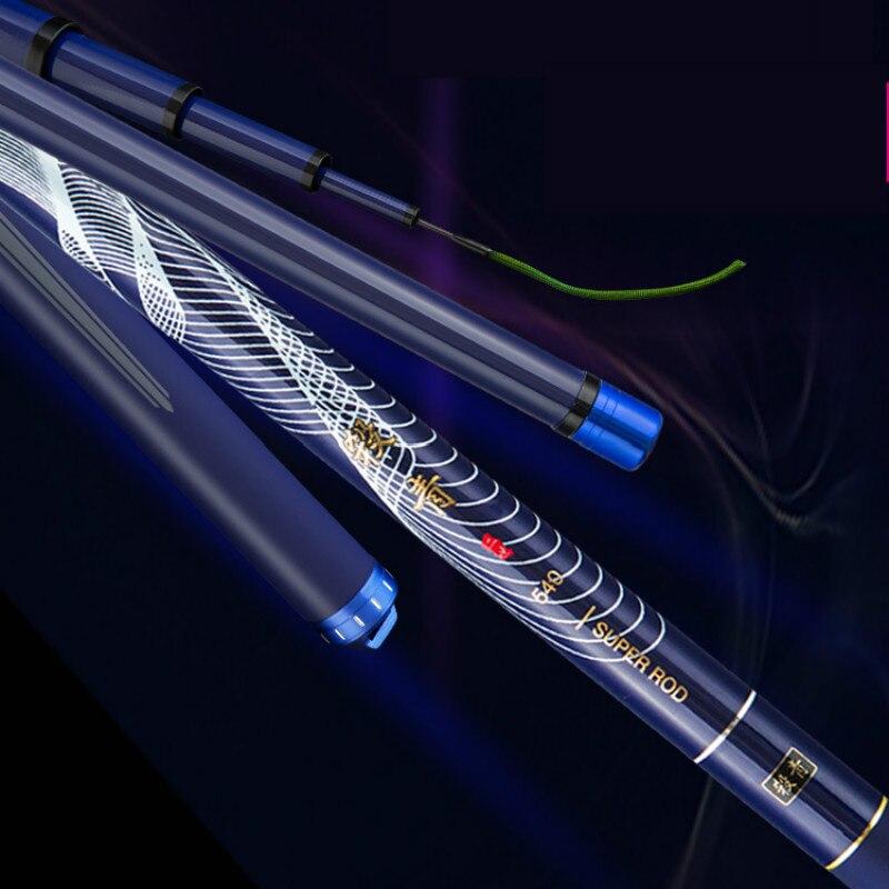 12H Super Hard Power Hand Pole Herring Sturgeon Telescopic Fishing Rod Vara De Pesca 5.4M-11-M Carbon Taiwan Wedkarstwo Olta enlarge