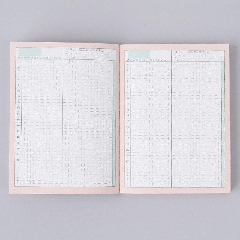 Ежедневник на полгода без даты, ежедневник с планом на полгода, ежедневник A6A5, блокнот, школьные канцелярские принадлежности