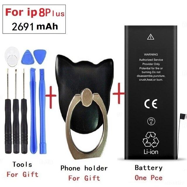 Bateria 1821 2691mah do telefone móvel para a bateria 8 mais da substituição da bateria do iphone 8