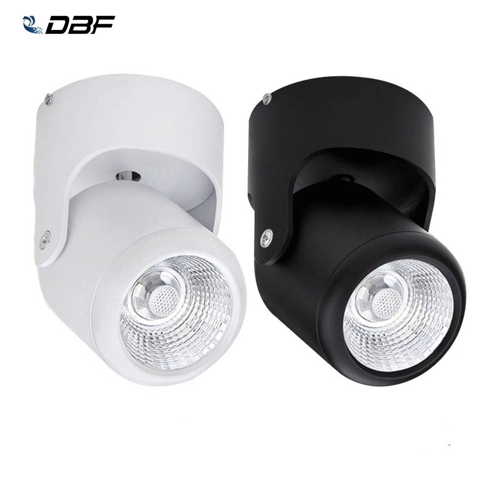 [Dbf] Led Opbouw Downlight Dimbare 7W 10W 15W 20W Led Plafond Spot Light AC90-265V Voor Woonkamer Slaapkamer Keuken