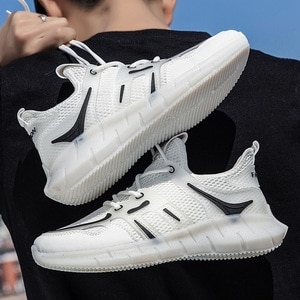 2021 Summer New Breathable Mesh Men's Shoes Korean Version Of the Trend Of Sports and Leisure Running Shoes