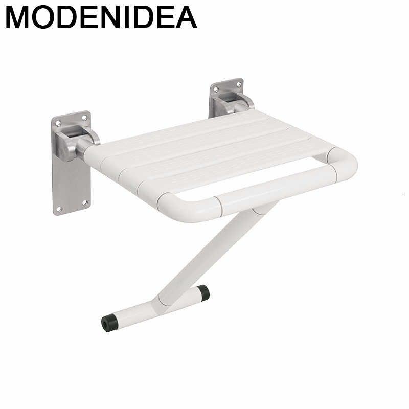 Sgabello-Mueble De Dormitorio para el hogar, Taburete Plegable De pies, silla De...