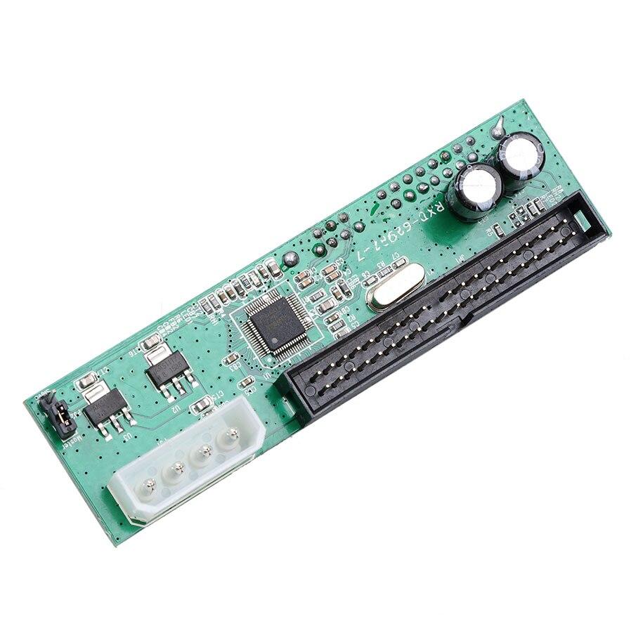 """Adaptador convertidor de disco duro de 44pin Sata 2,5 """"3,5"""" a IDE 3,5 """"adaptador ATA 100 133 HDD DVD CD 4P"""