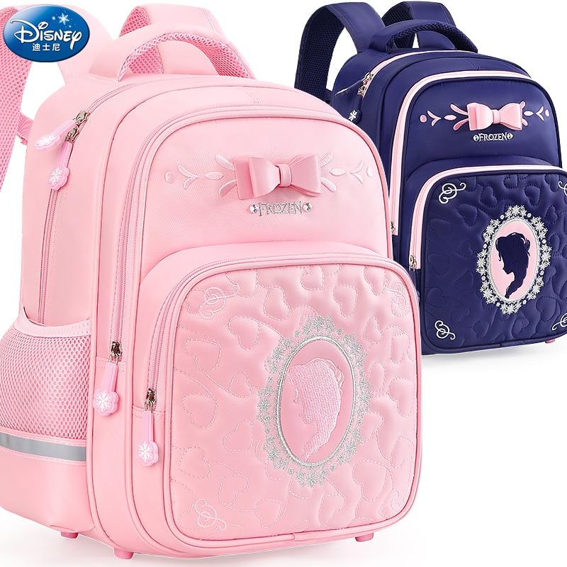 حقيبة ظهر مدرسية أصلية من Disney حقيبة ظهر للأطفال من سن 6 إلى 10 سنوات للفتيات في المدارس الابتدائية SA80021