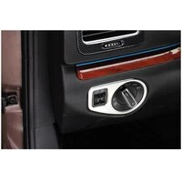 lsrtw2017 car headlight switch frame trim for volkswagen sharan vw 2011 2012 2013 2014 2015 2016 2017 2018 seat alhambra