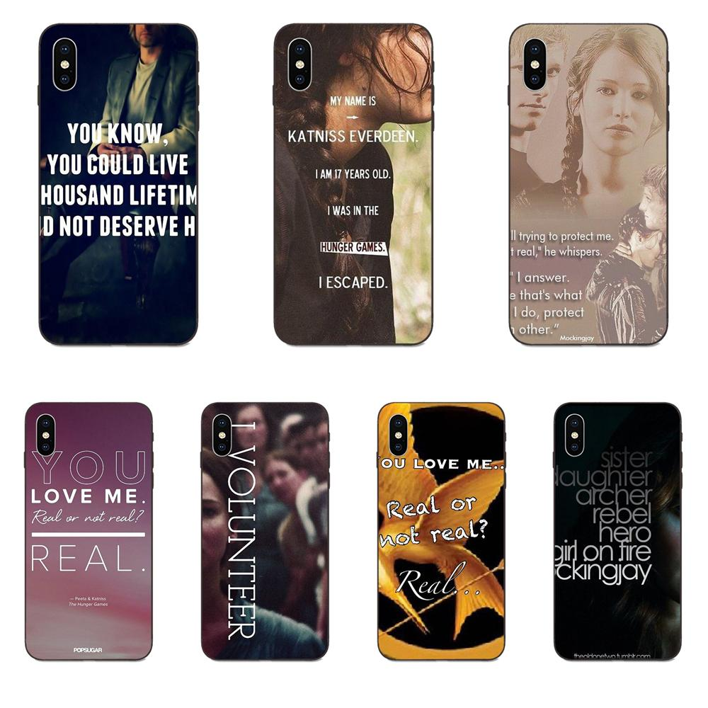 The Hunger Games Real Or Not Quotes For Galaxy C5 C7 J1 J2 J3 J330 J5 J6 J7 J730 M20 M30 Ace Core Ma
