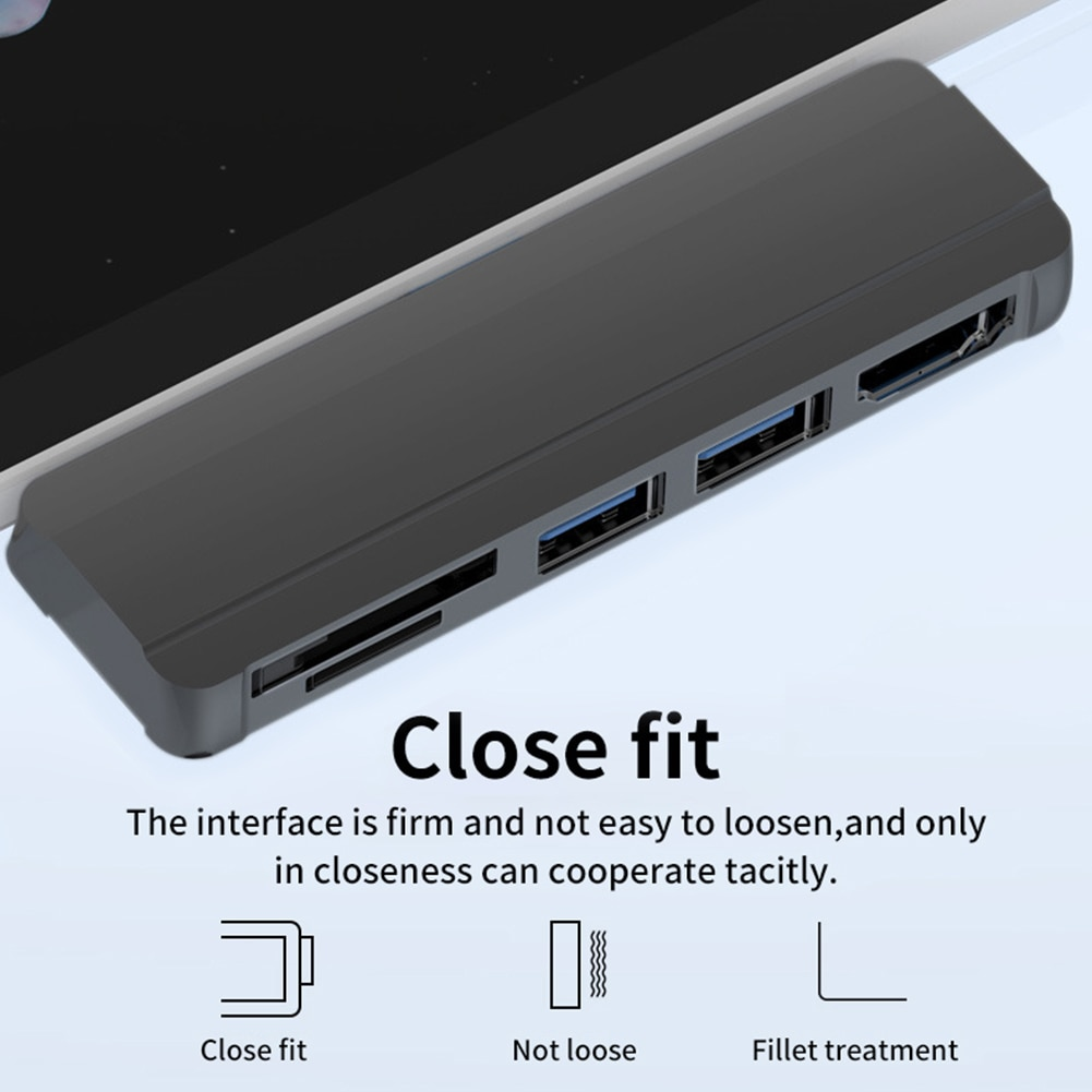 estacao de encaixe usb 30 para microsoft surface pro 3 4 5 adaptador usb compativel