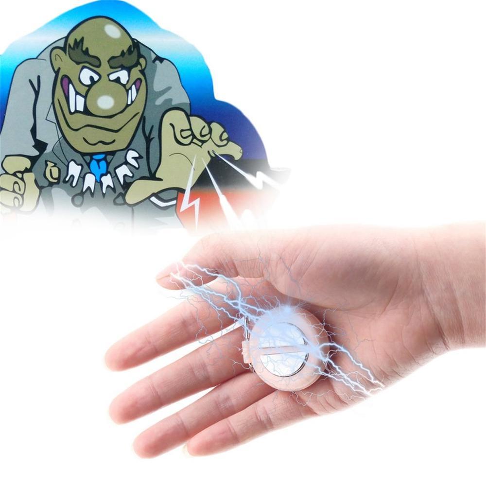 Funny Shocking Hand Buzzer Shock Toy Gadget Gag Joke Novelty Funny Prank Trick Novelty Friend's Birthday Gift Color Random