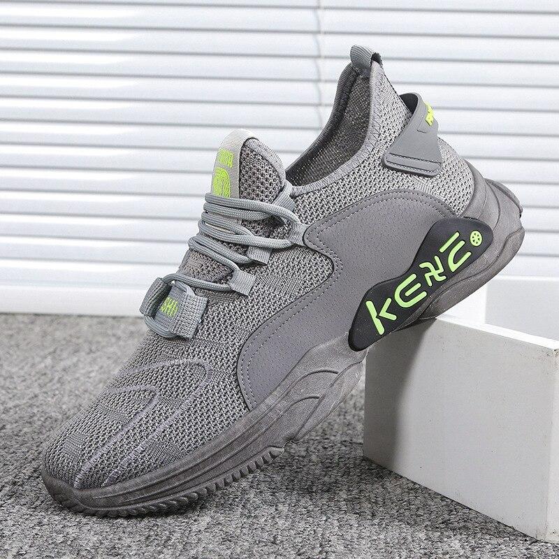 Zapatillas De deporte zapatillas De correr sin mangas para hombre... Zapatillas transpirables...