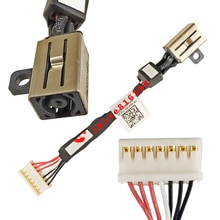 Marca nuevo conector jack DC para DELL XPS 15 9550 9560 M5510 M5520 CABLE DC IN P/N DC30100X200 064TM0 envío gratis