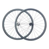 29er carbon bike crosscountry tubeless wheels center lock 30mm outer 25mm internal width 24 28 32 spokes mtb xc bicycle wheelset