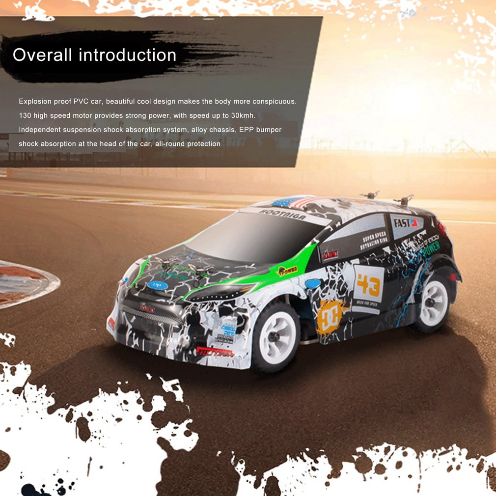 1:28 RTR RC Car 2.4G 4WD 4 Channles 30KM/H RC Drift Car Racing Car K969/K979/K989 For Selection Remote Control Car Kid's Toys enlarge