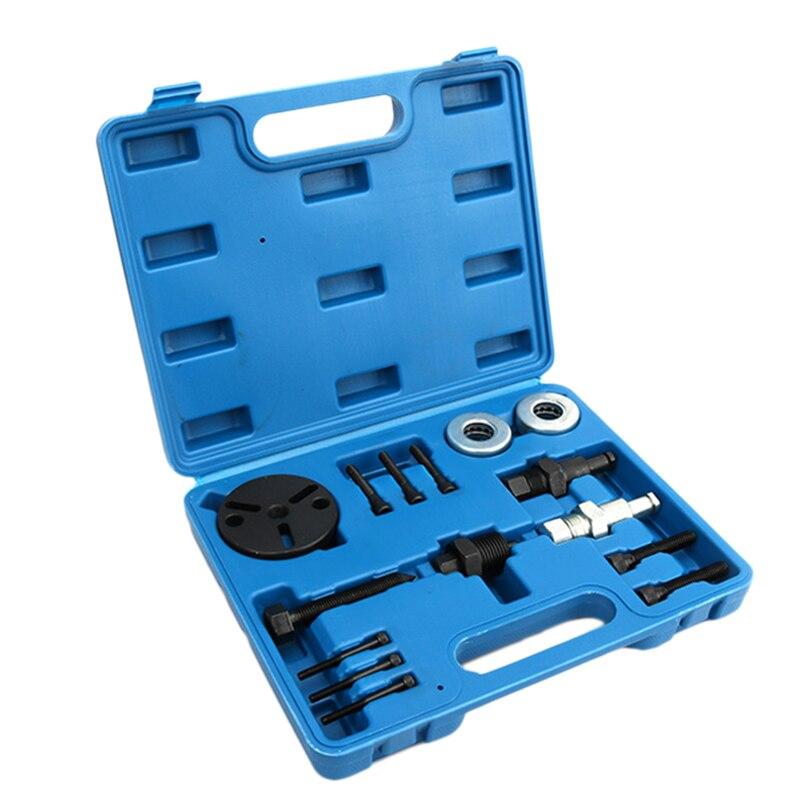 Kit de reconstrucción de embrague de compresor de aire, extractor de herramientas de extracción, extractor de embrague de CA para coche, aire acondicionado automático para G M, Ford y Chrysler