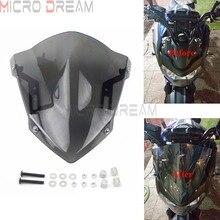 For YAMAHA MT-07 FZ-07 Motorcycle Front Windscreen Windshield For MT07 FZ07 FZ MT 07 2018-2020 Air Deflector Wind Screen Fairing