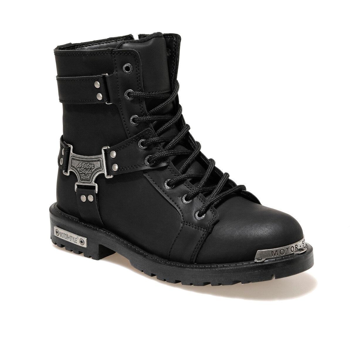EC-2029 الأسود الرجال الأحذية الرياضية