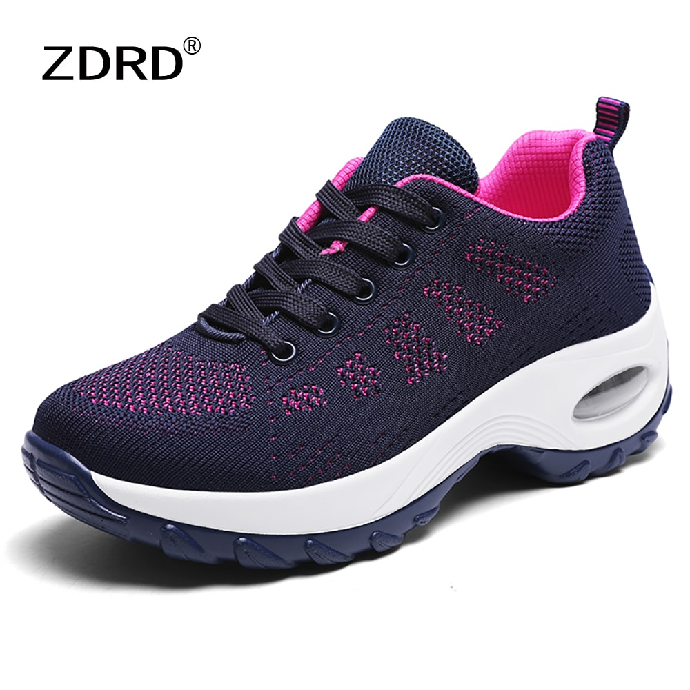 Summer Women Brand Mesh Sport Shoes Woman Casual Breathable Light Sneakers Zapatillas Mujer Tenis Basket Femme Vulcanized Shoes