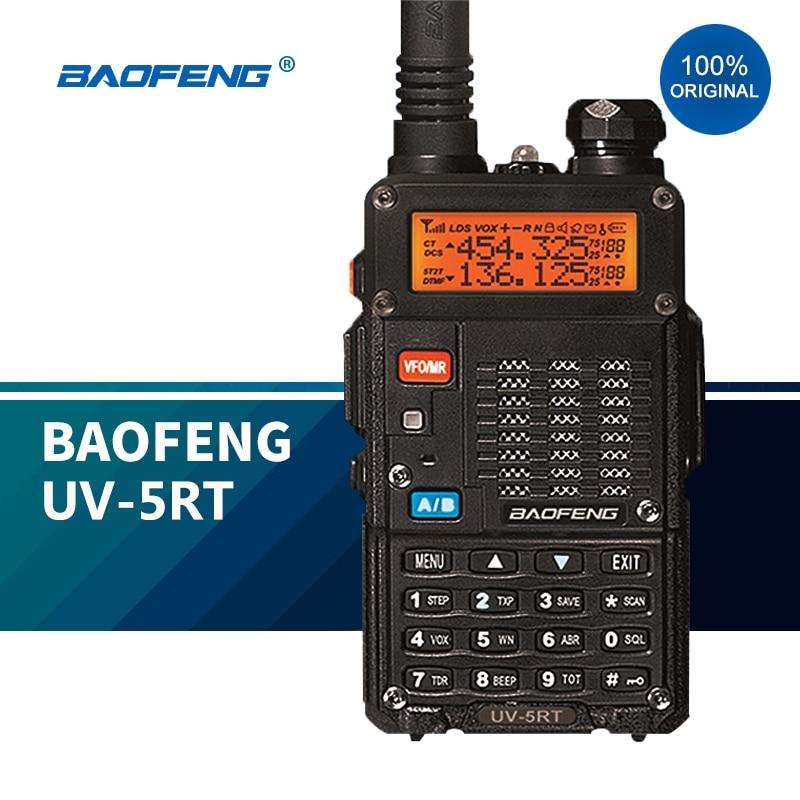 Портативная рация дальнего радиуса действия 2020 BaoFeng, полицейские радиоприемники BF UV 5RT UHF VHF, новая Любительская CB радиостанция hf, трансивер