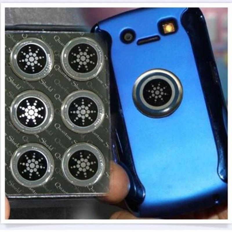 1/6 Uds. Quantum Shield Sticker teléfono móvil pegatina para Teléfono Celular Anti radiación protección contra la fusión EMF evitar la radiación