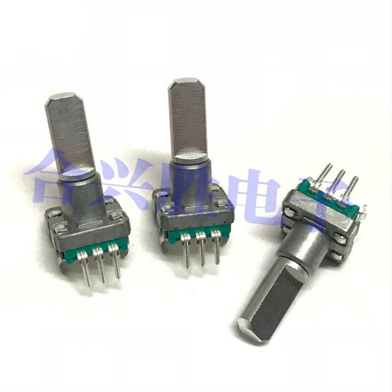 Codificador rotativo EC11 tipo 30 posicionamiento 15 impulsos sin interruptor longitud del eje 20mm