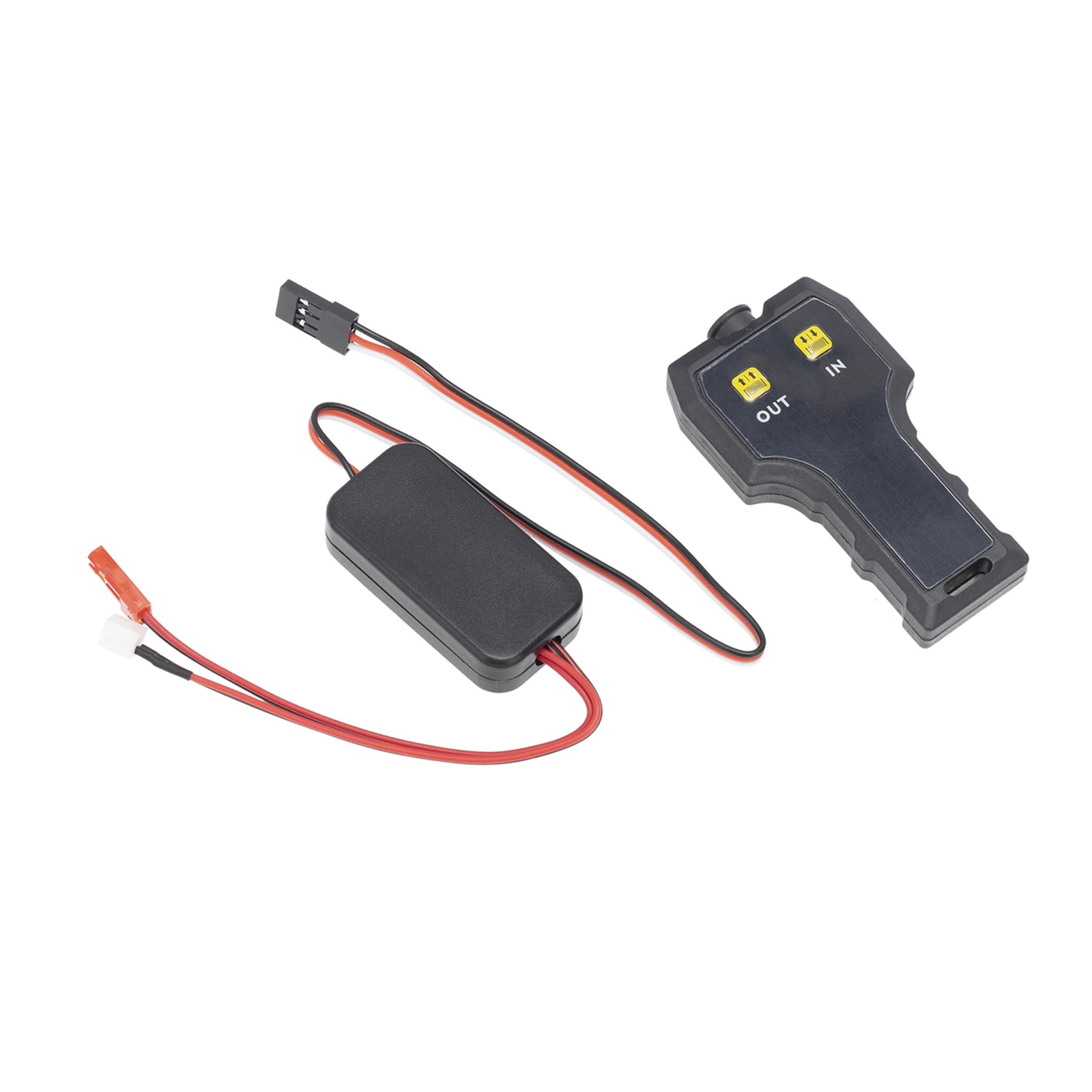 1/10 RC Crawler Automatic Metal Wired Winch Remote Controller System for TRX4 D90 Rc Car enlarge