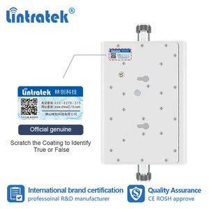 Image 4 - Lintratek 70dB 2G 3G 850 1900 ретранслятор GSM UMTS 1900mhz усилитель сотового сигнала CDMA B2 B5 3G Усилитель антенна yagi комплект dj