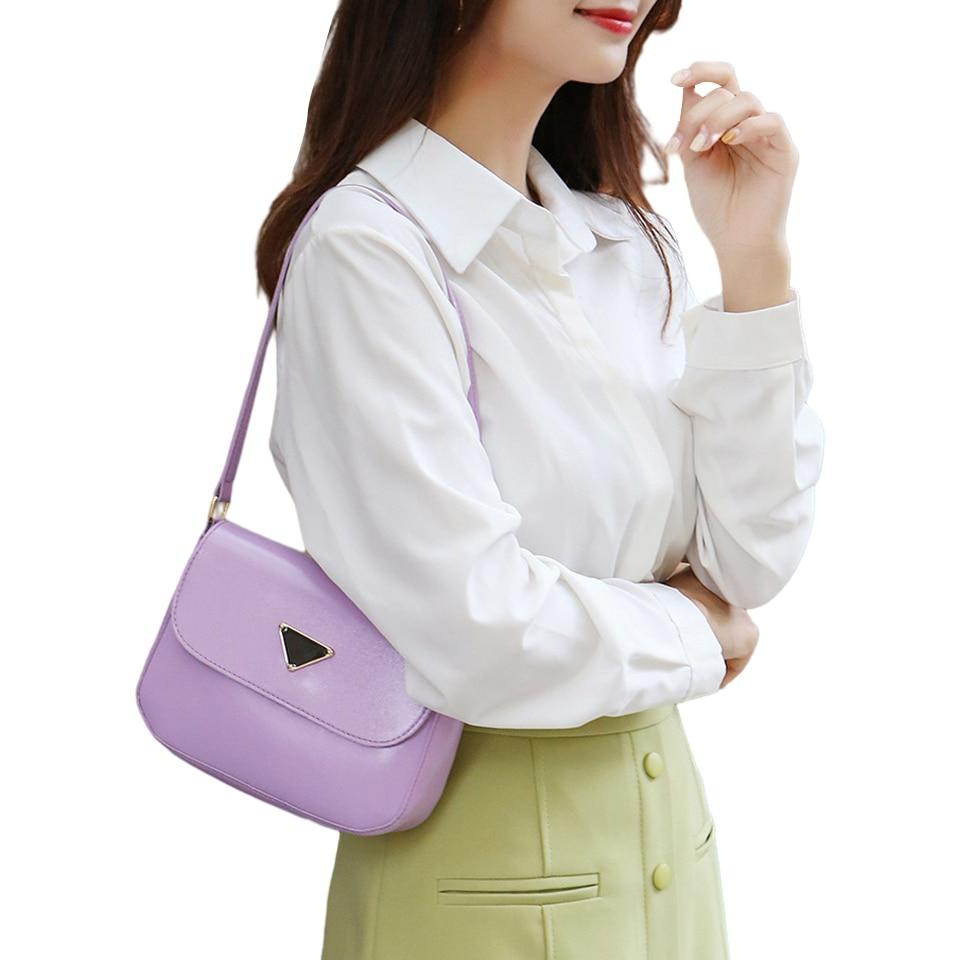 Woman Mini Shouler Bag Small PU Leather Crossbody Bags for Women Trend Women's Branded Trending Shoulder Handbags Cute Side Bag