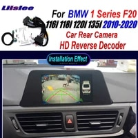 car rear view camera for bmw 1 series f20 116i 118i 120i 2010 2020 interface adapter connect original screen hd reverse decoder