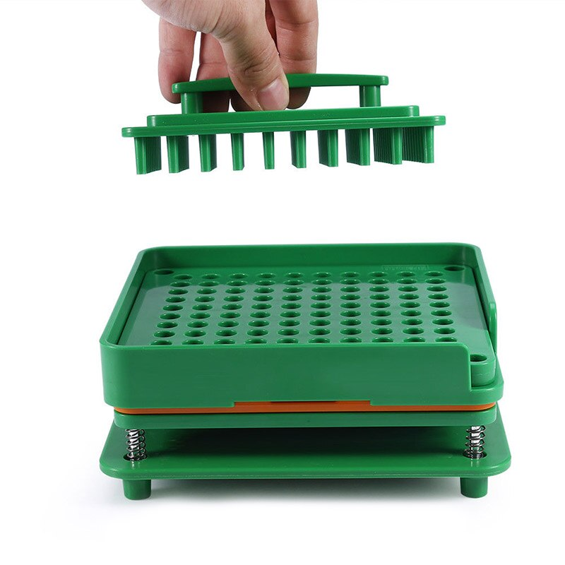 Máquina de llenado de cápsulas ABS máquina de llenado de cápsulas manuales de 100 orificios tamaño 0 máquina de Encapsuladora Manual gran oferta