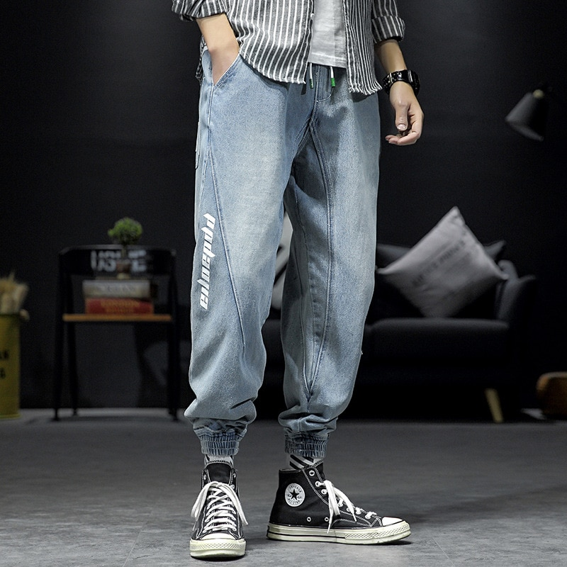 2021 Fashion Brand new Men's jeans Business Casual elastic and Comfortable Straight-leg Jeans Men's High-quality brand Trousers