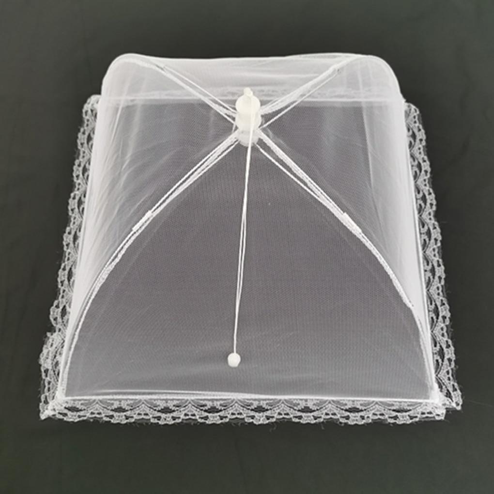 Складная сетчатая Крышка для пищевых продуктов, домашний обеденный стол, кухонная стойка, зонт с принтом фрукта воздухопроницаемая Крышка для еды с защитой от насекомых, для еды