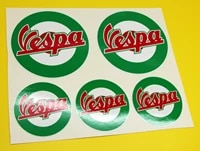 for 1set vespa scooter style italian flag roundels x 5 stickers decal set piaggio