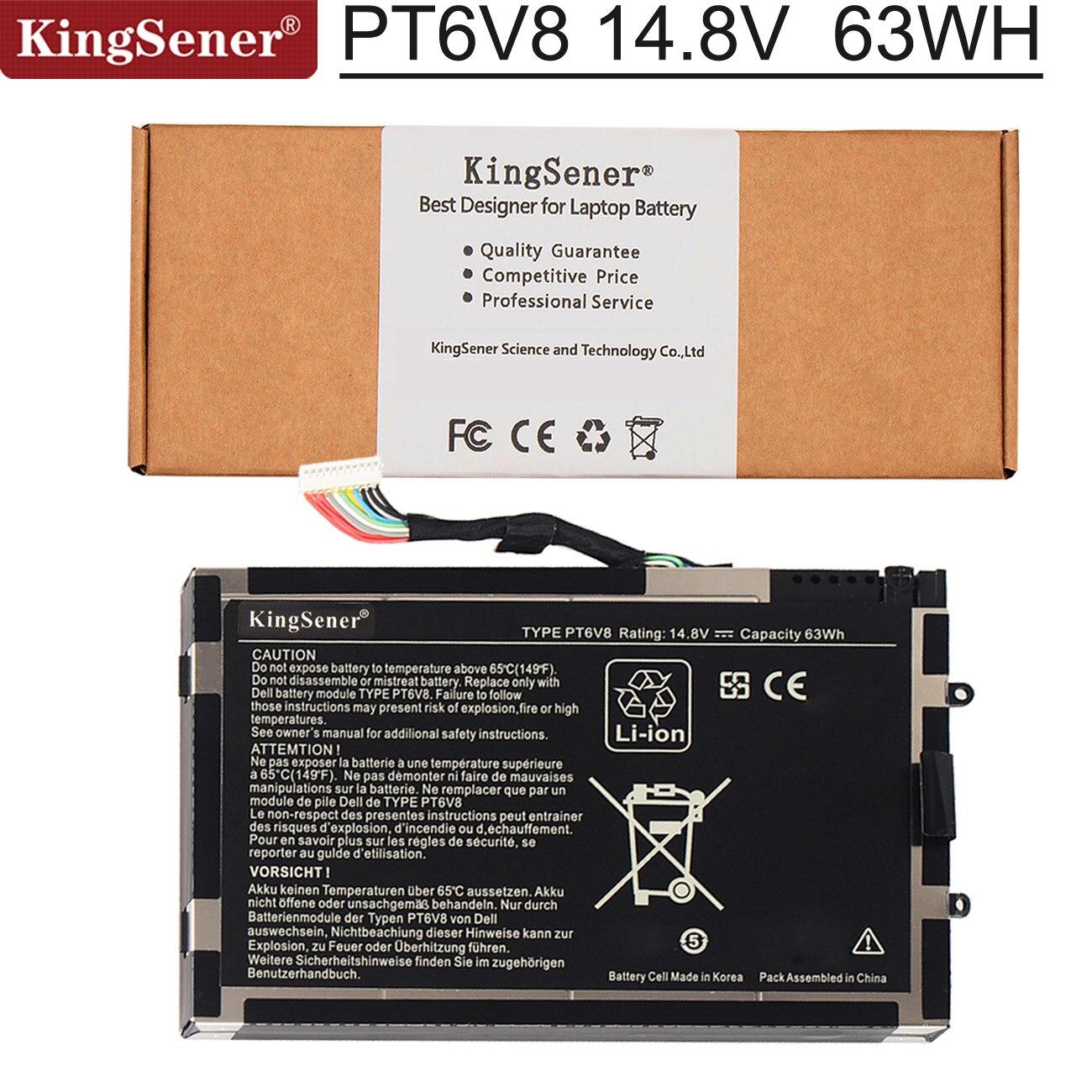KingSener PT6V8 batería del ordenador portátil para DELL Alienware M11x M14x R1...