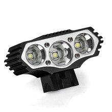 # H30 T6 luz LED de bicicleta 12000 Lm 3x3 modos XML bicicleta lámpara faro ciclismo antorcha para bicicleta linterna led