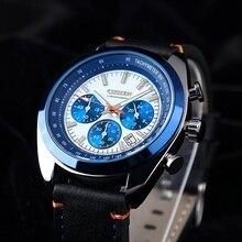 Men Luxury Brand Fashion Casual Leather Strap Wrist Watch Men's Quartz Watches Man Analog Relogio Ho