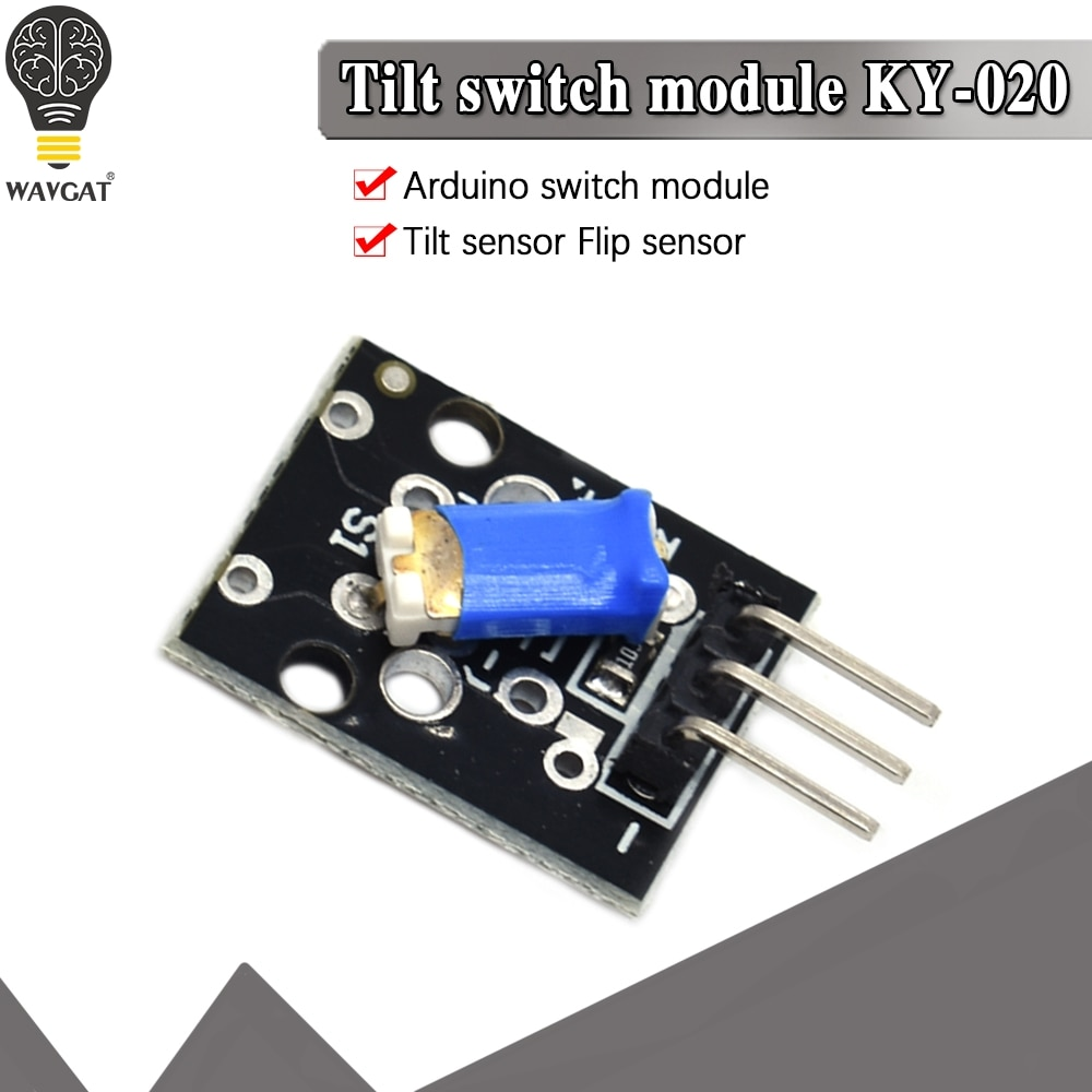 1PCS 3pin KY-020 3.3-5V Standard Tilt Switch Sensor Module For Arduino