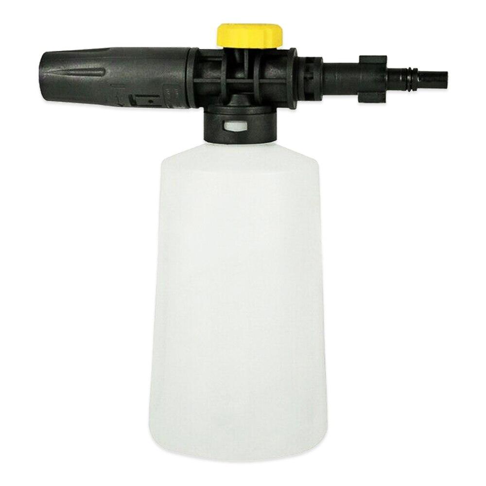 Espuma de neve lança espuma arma bico para lavor para vax para comet para bs lavadora de alta pressão 750ml gerador de espuma de sabão arma de lavagem de carro