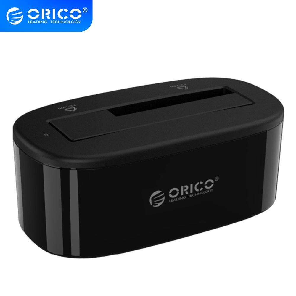 ORICO USB3.0 to SATA 3.0 External Hard Drive Docking Station for 2.5 3.5 inch HDD SSD Support UASP and 8TB Hdd USB Adapter