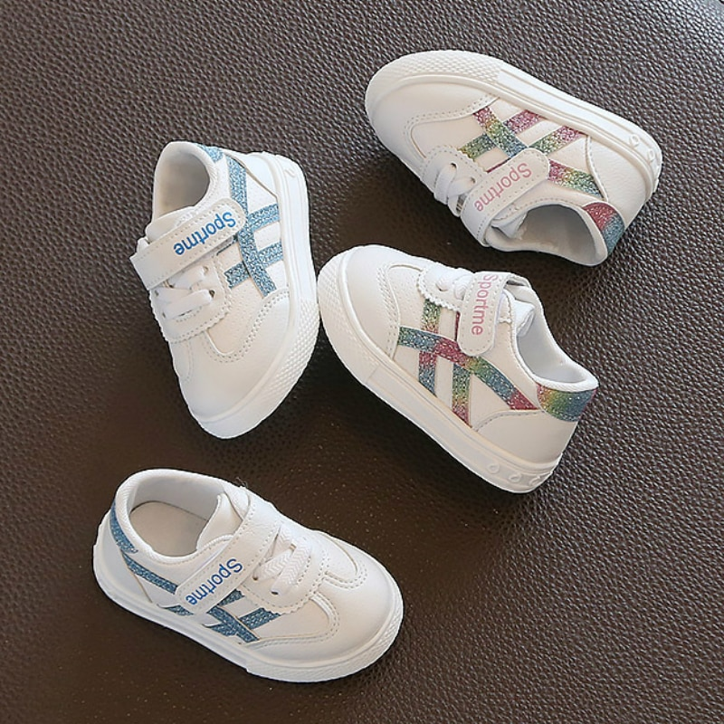 2018 spring autum new infant sports baby boy shoes of children 1 3 years toddler soft bottom hook 2021 New Spring Baby Girl Boy Toddler Shoes Infant Casual Running Shoes Soft Bottom Comfortable Stitching Color Children Sneaker