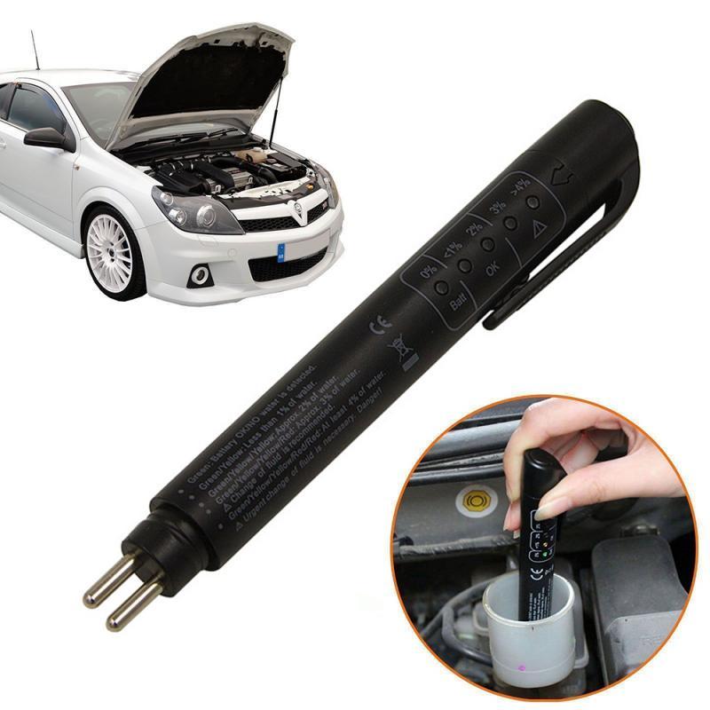 Universal Genaue Brems Flüssigkeit Flüssigkeit Tester Öl Überprüfen Digitale Tester Auto Fahrzeug Prüfung Werkzeug Anzeige Stift auto zubehör