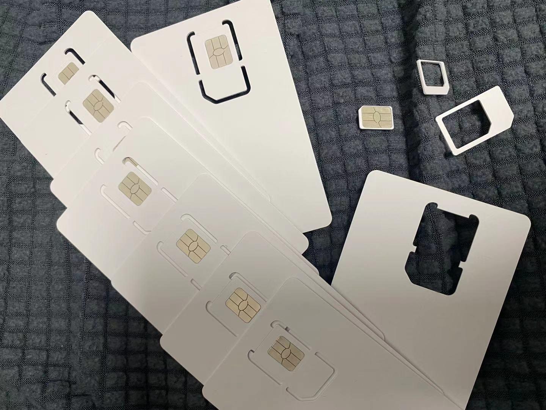 100 PCS GN SIM Reusable Programmable Blank SIM Writable ICCID Edit Card Nano Micro SIM Card enlarge