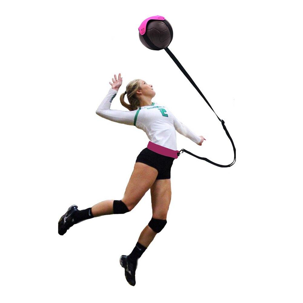 Equipo de entrenamiento de voleibol ayuda gran entrenador Solo para la práctica de servir lanzamientos y columpios de brazo vuelve la correa de entrenamiento