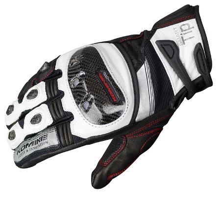 Komine GK 193 protéger gants en cuir moto Motocross Scooter équitation Scooter gant