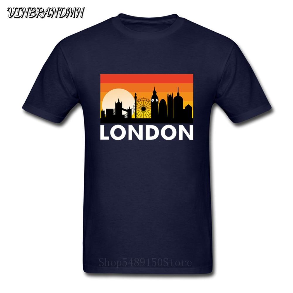 Camiseta I Love London para hombre divertida torre Eiffel diseño romántico moda...