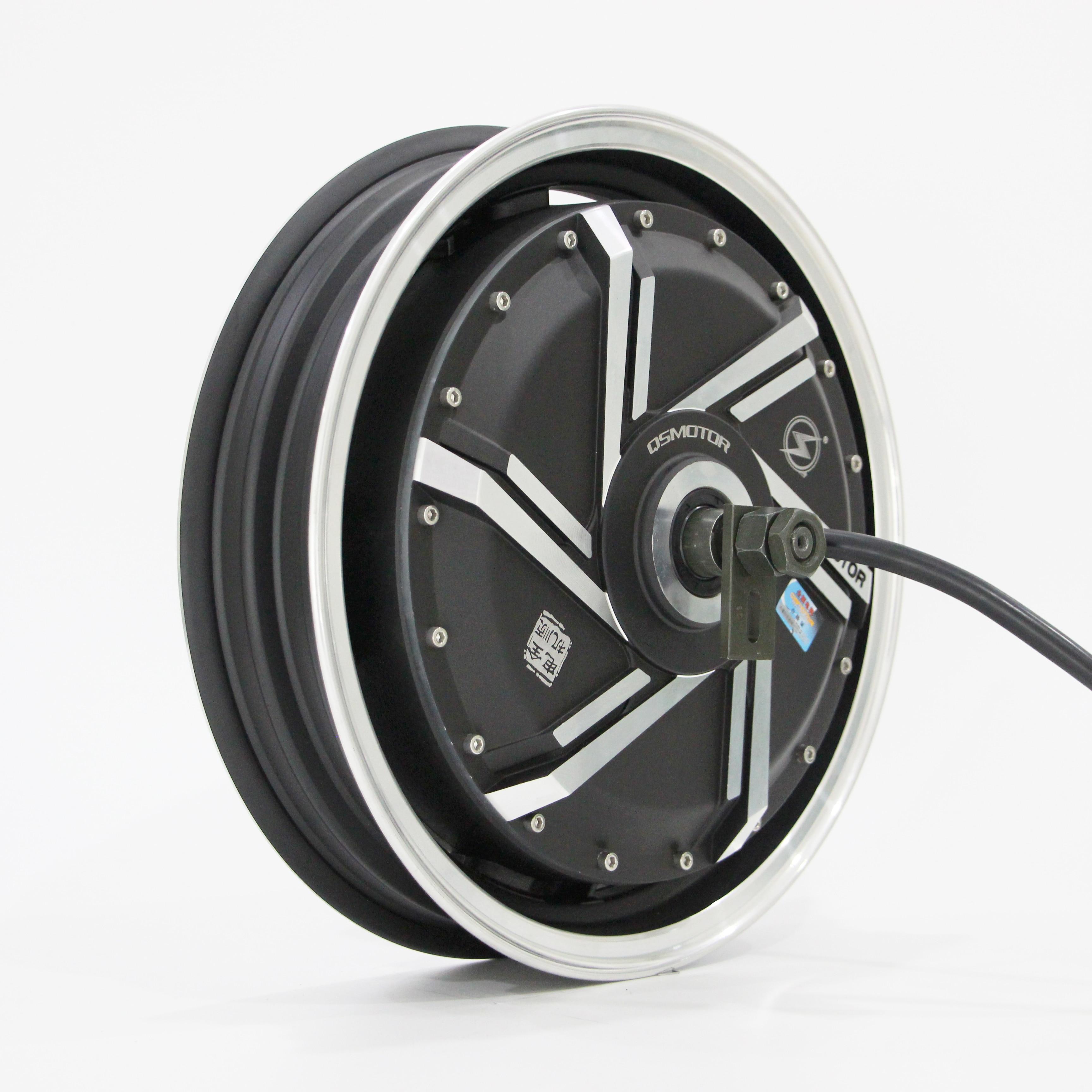 13inch12000W 273 70H V4 72V Brushless DC Electric Scooter Motorcycle Hub Motor enlarge