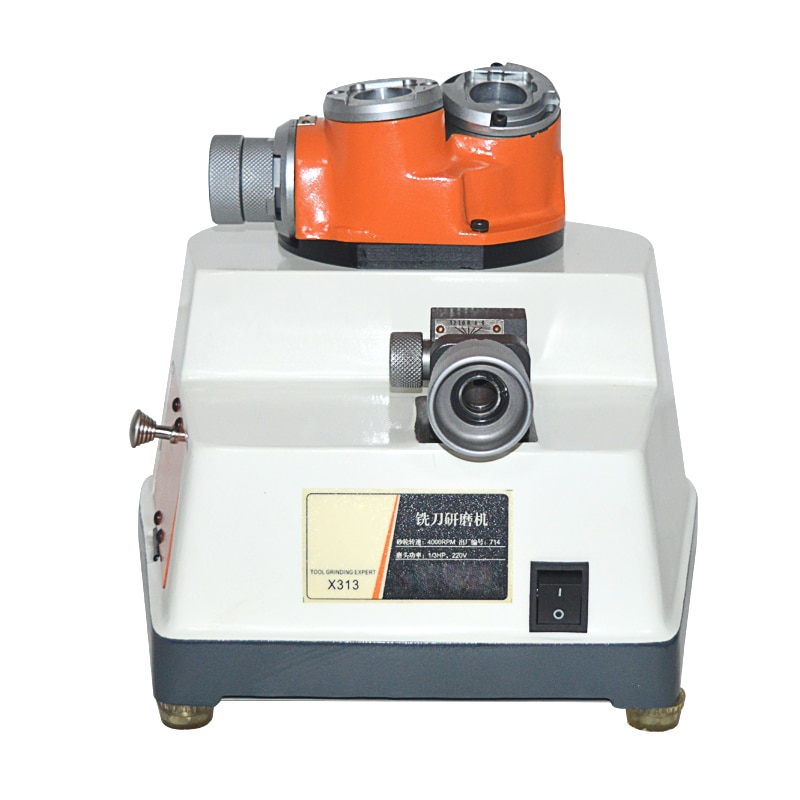 1 шт. 220 В X-313 Концевая мельница шлифовальный станок 4 мм-13 мм автоматический концевой фрезерный режущий станок высокая скорость 6000 об/мин