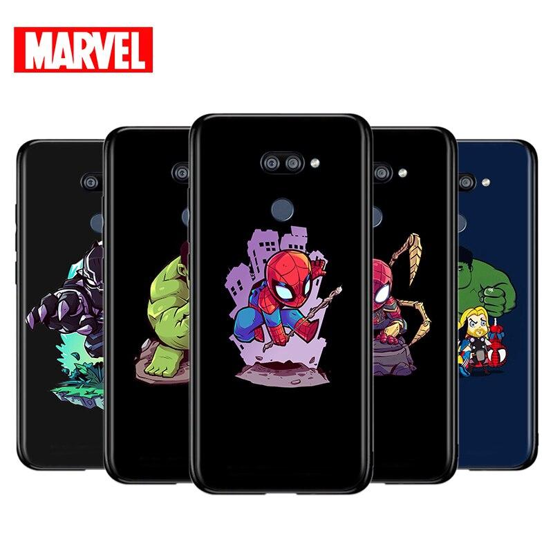 marvel-avengers-cute-cartoon-for-lg-k22-k71-k61-k51s-k41s-k30-k20-k50s-k40s-q60-v60-v50-v40-v35-v30-g8-thinq-black-phone-case
