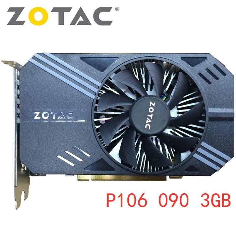 Zotac P106 090 3GB Mining GPU Graphics Cards P106-90 Video Card Bitcoin BTC ETH Coin Miner Ethereum